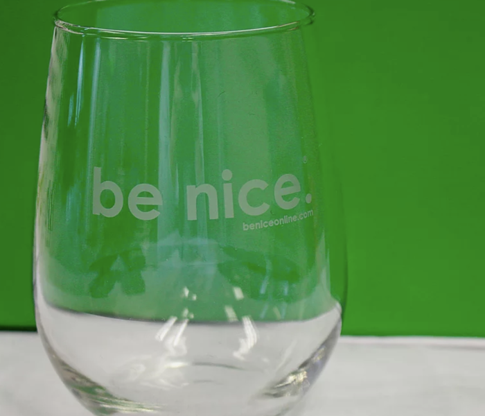 be nice. Wine Glass