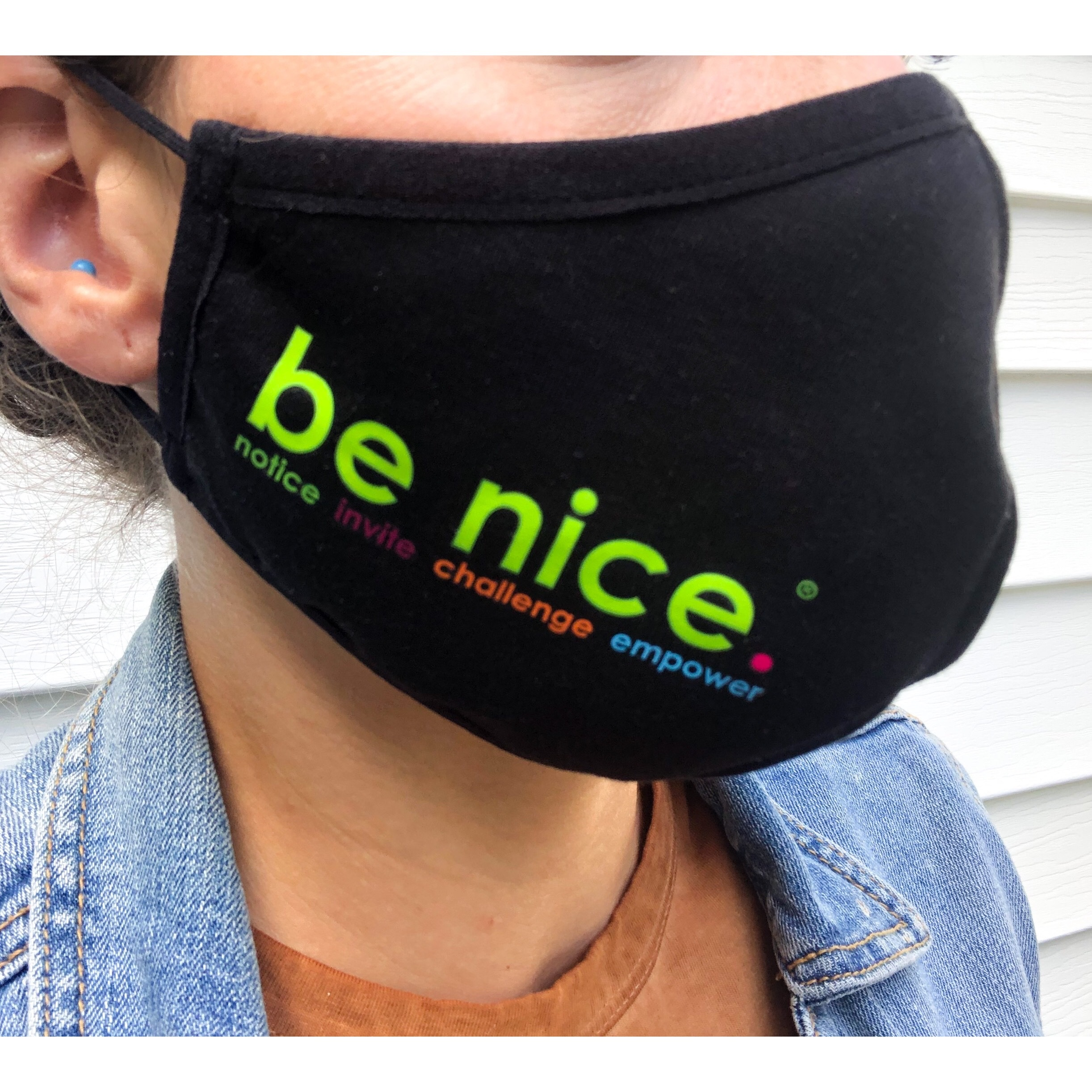 be nice. Face Mask 3pk